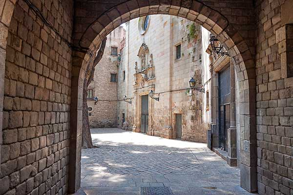 Barri Gòtic, le quartier gothique