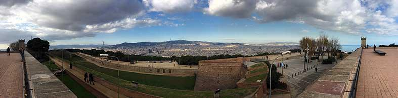 chateau montjuic barcelone