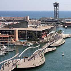Port vell haven Sites touristiques de Barcelone