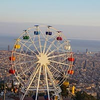 Tibidabo Barcelone Parc d'attractions