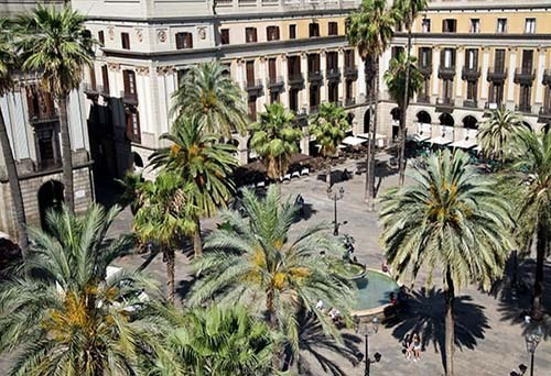 plaza reial barcelone